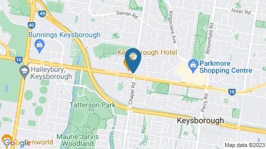 Nightcap at Keysborough Hotel Map