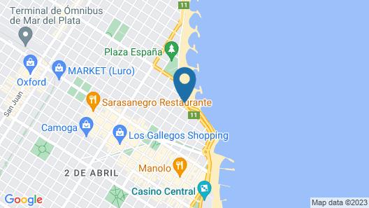 Mérit Mar del Plata Map