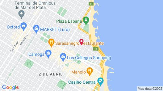 Hotel Sol y Mar Map