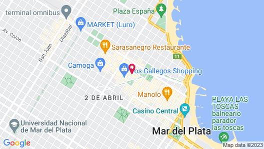 Belian Hotel Map