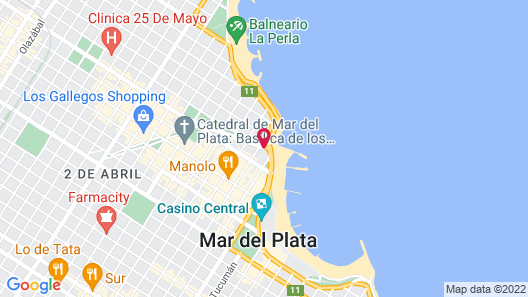 Hotel Iruña Map