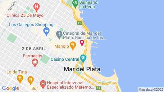 Gran Hotel Rivoli Map
