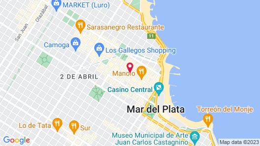 Hotel Delfín Map