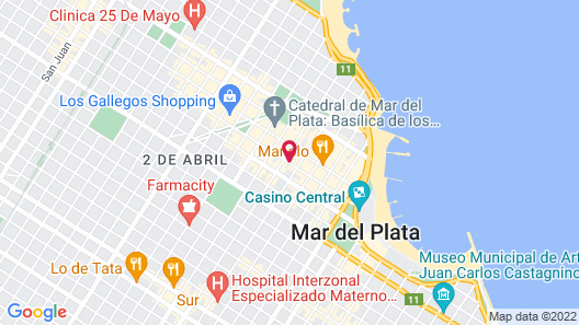 Hotel Compostela Map