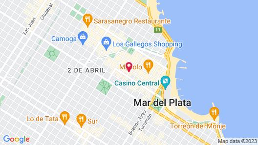 Gran Hotel Continental Map