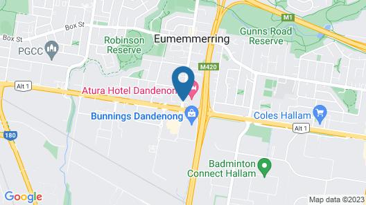 Atura Dandenong Map