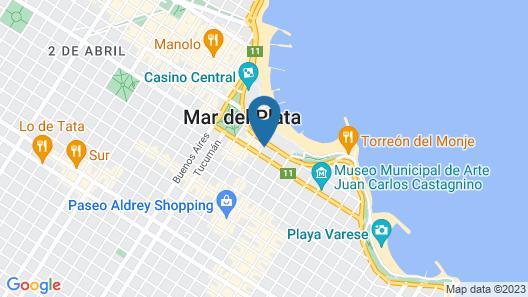 Apart Avenida del Mar Map