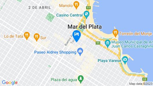 Hotel Denver Map