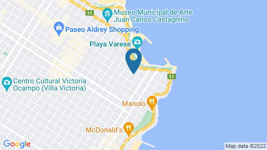 Torres de Manantiales Apart Hotel Map