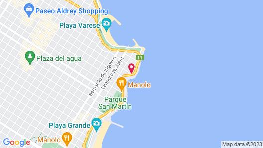 Hotel Las Rocas Map
