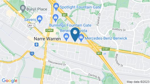 Quest Narre Warren Map