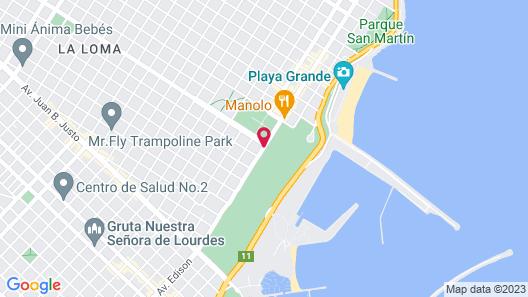 Sheraton Mar Del Plata Hotel Map