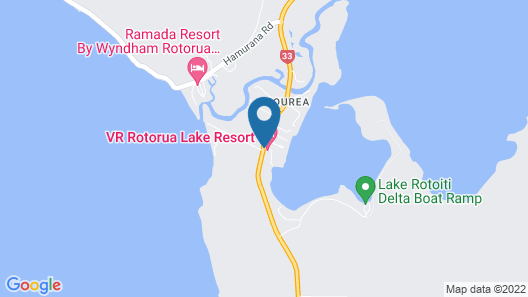 VR Rotorua Lake Resort Map