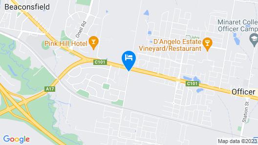 Melaleuca Lodge Map
