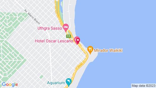 Hotel Oscar Lescano - All Inclusive Map