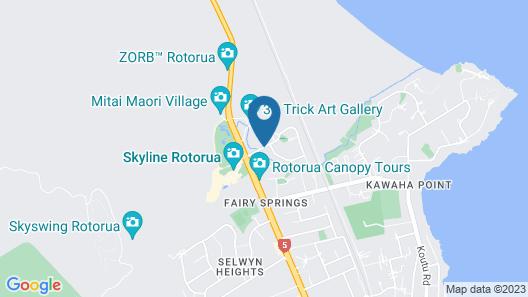 Best Western Braeside Rotorua & Conference Centre Map