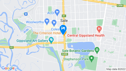Criterion Hotel Sale Map