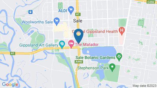 Midtown Motor Inn Map