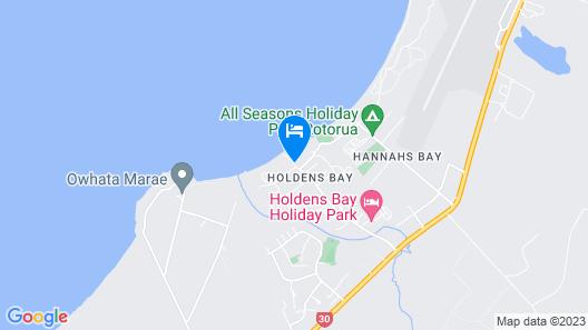 Wai Ora Lakeside Spa Resort Map