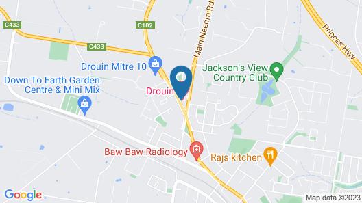 Drouin Motel Map