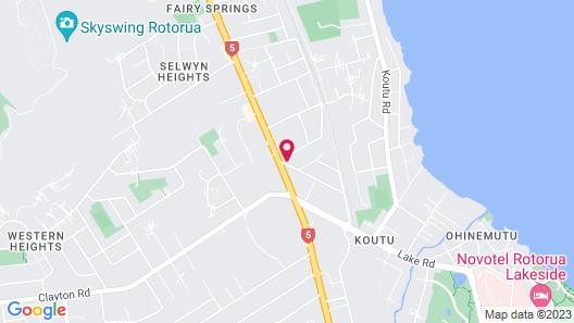 Rotorua International Motor Inn Map