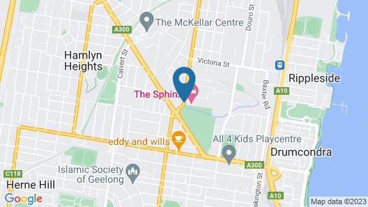 Sphinx Hotel Motel Map