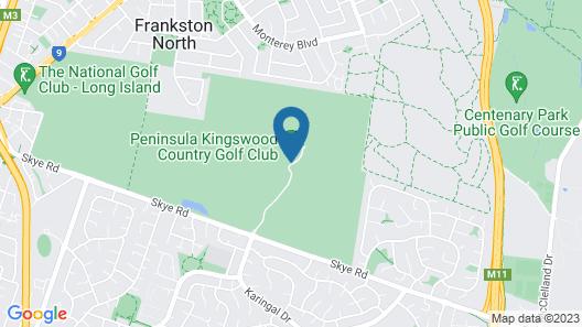 Peninsula Country Golf Club Map