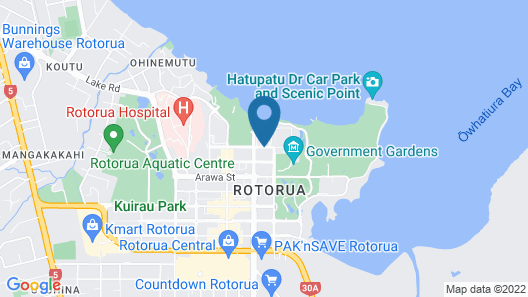 Aura Accommodation Map