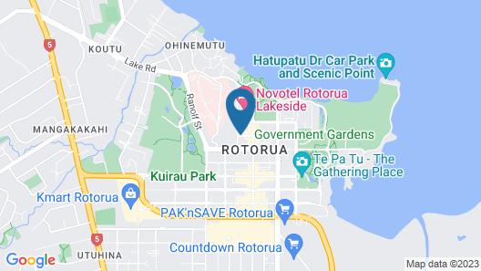 Regent of Rotorua Map
