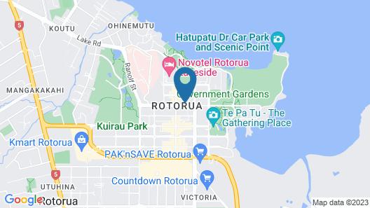 Pullman Rotorua Map