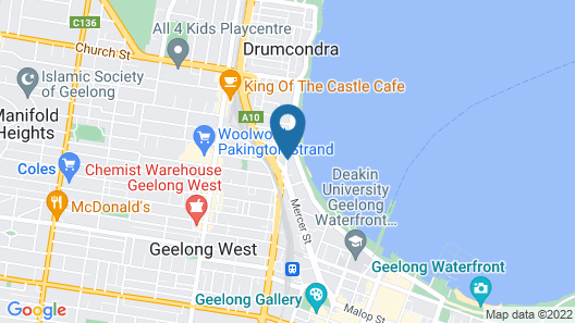 Quest Geelong Map
