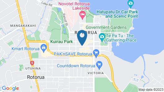 Quest Rotorua Central Map