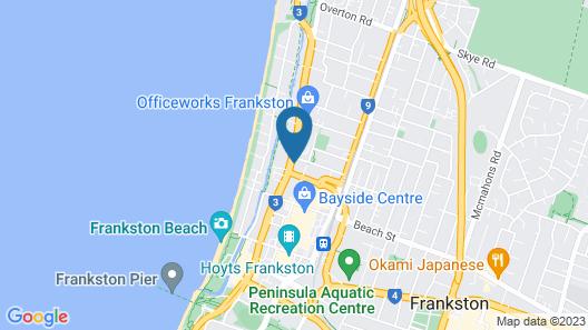 Frankston International Map