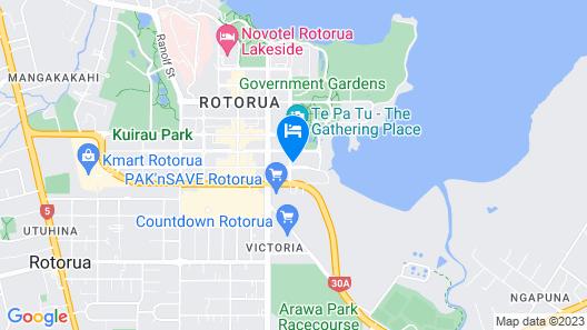 Millennium Hotel Rotorua Map