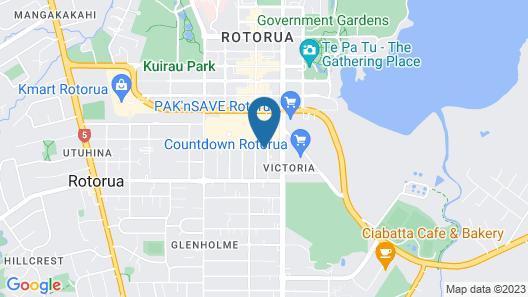 Victoria Lodge Map