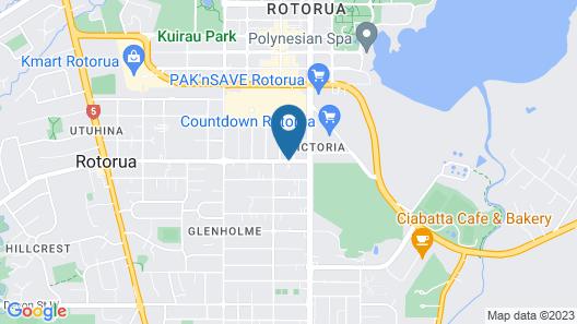 Rotorua Motel Map