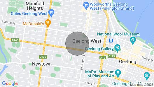 Cottage - Garden - Close to City - Pet Friendly Map