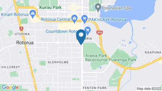 Boulevard Motel & Restaurant Map