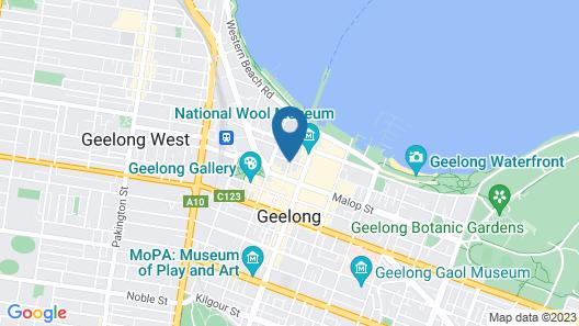 Nireeda Apartments Geelong Map