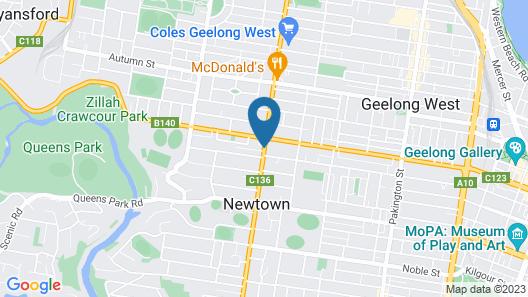 Shannon Motor Inn Map