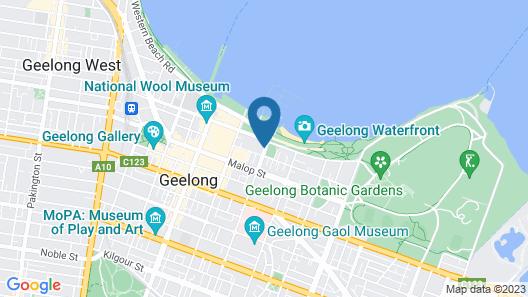 Vue Apartments Geelong Map