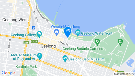 Vue Apartments Geelong Map