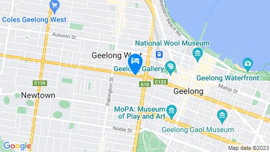 Aberdeen Motor Inn Map