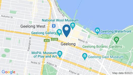 Soho 203 Map