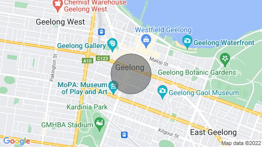 The Ryan Geelong CBD Map