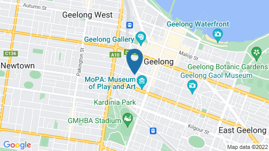 Nomads Nest Geelong Map