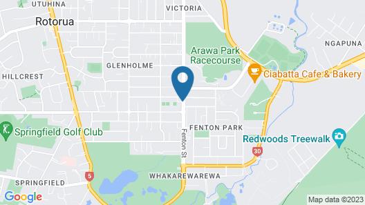 Malones Motel Map