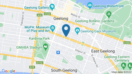 Mckillop Geelong By Gold Star Stays Map