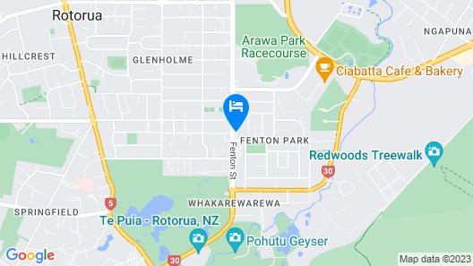 Copthorne Hotel Rotorua Map