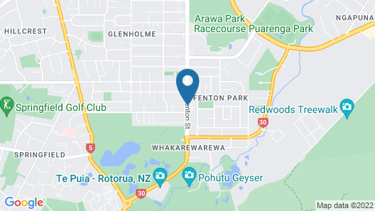 Regal Palms Resort Map